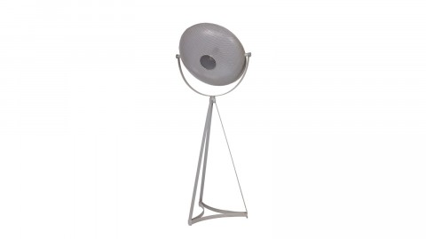 Lampadaire en métal gris - Collection Blown - BePureHome