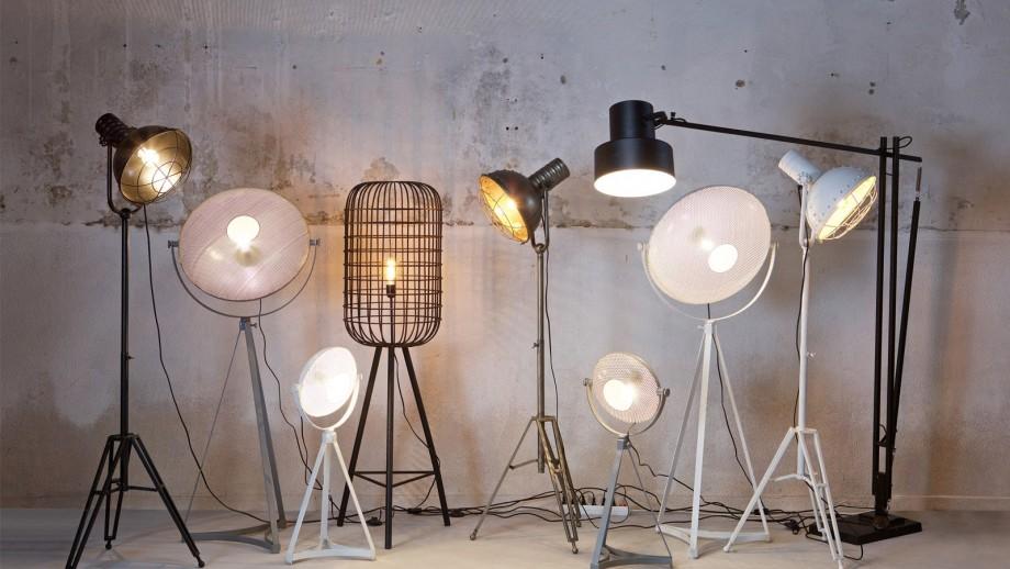 Lampe de table blanche – Collection Blown