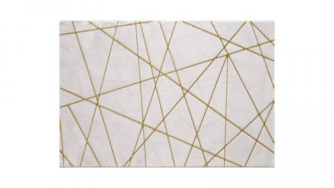 Tapis de salon marbre gold 120 x 170 cm - collection INA