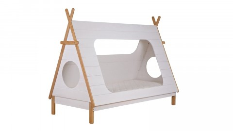 Lit 90x200cm avec sommier – Collection Tipi