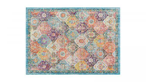 Tapis vintage Multicolore 200x290cm - Collection Rhys