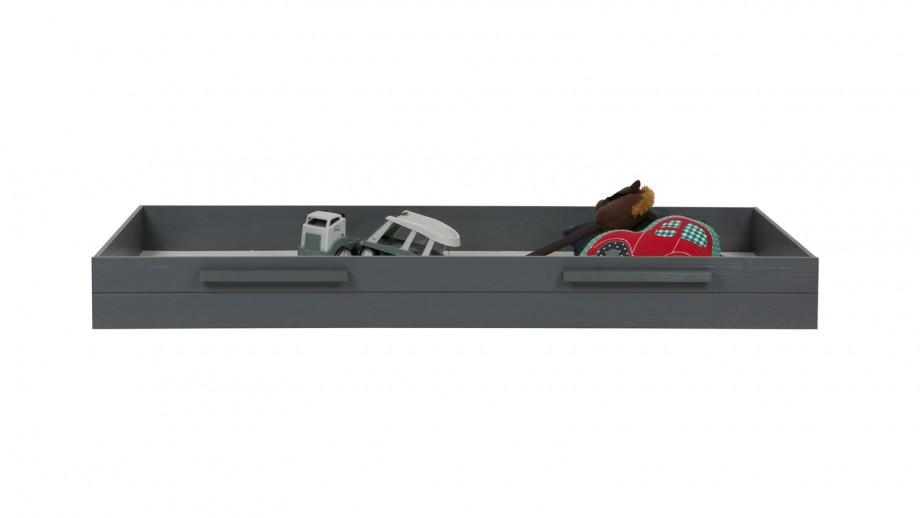 Tiroir en pin gris pour lits Robin et Dennis – Collection Robin - Woood