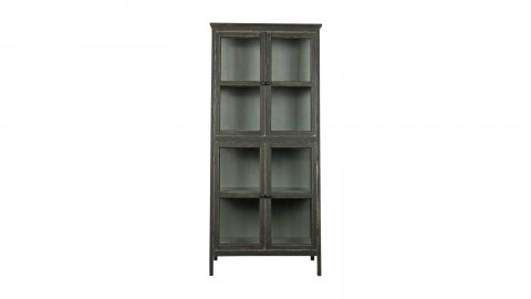 Commode chiffonier en bois noir - Collection Herritage - BePureHome
