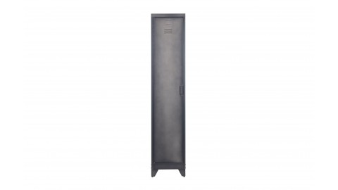 Armoire 1 porte en métal noir - Collection Cas - Woood