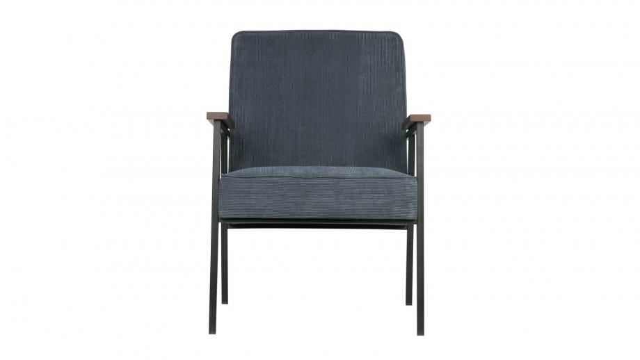 Bergère bleu acier – Collection Doris – Woood