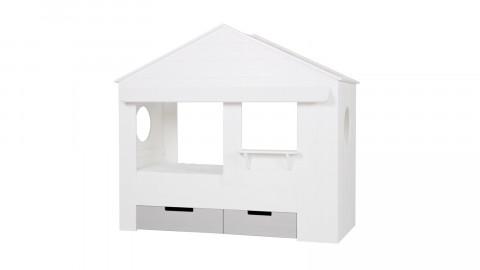 Lot de 2 tiroirs pour lit cabane en pin blanc – Collection Huisie – Woood