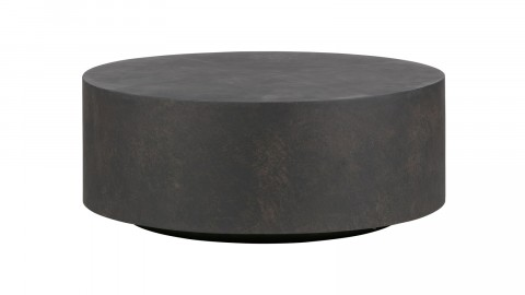 Table basse gris anthracite 32 x 80 cm - Collection Dean - Woood