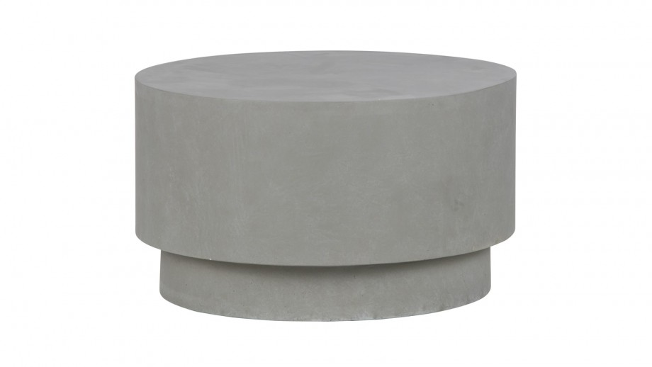 Table basse marron 34x60x60cm - Collection Dean