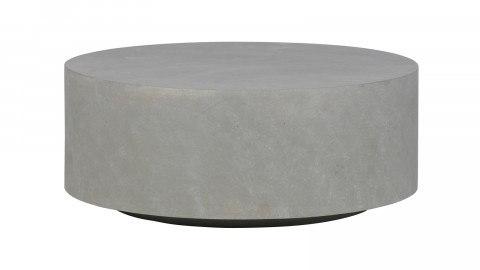 Table basse grise 32x80x80cm - Collection Dean
