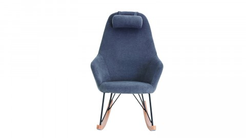 Fauteuil à bascule gris – Collection Evy