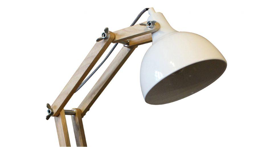 Lampe de bureau DEXTER Blanc