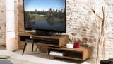 Gøran - Meuble tv rotatif scandi