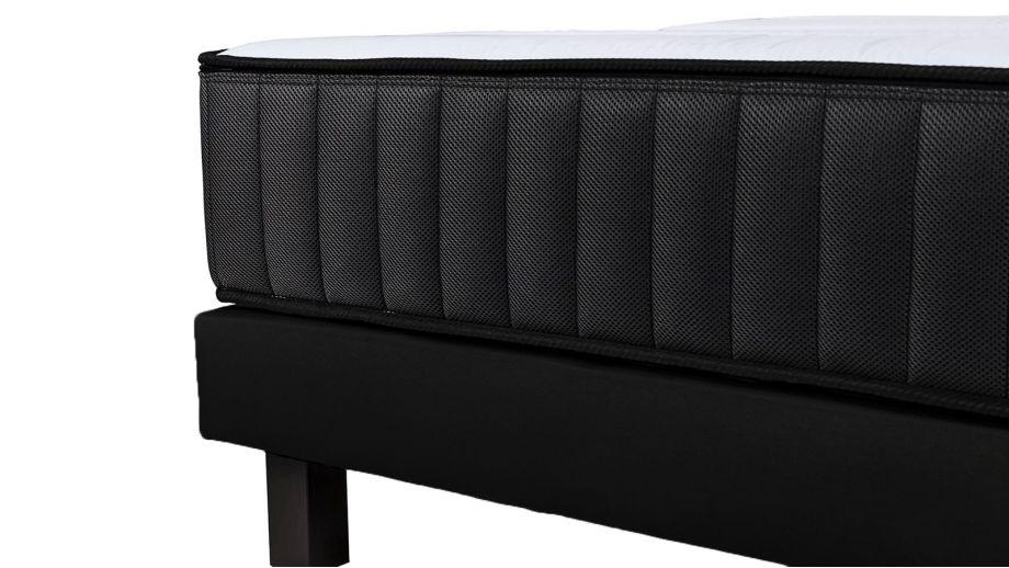 Ensemble Memo Zen 180x200 – Matelas mémoire de forme 180x200 + 2 sommiers tapissiers 90x200