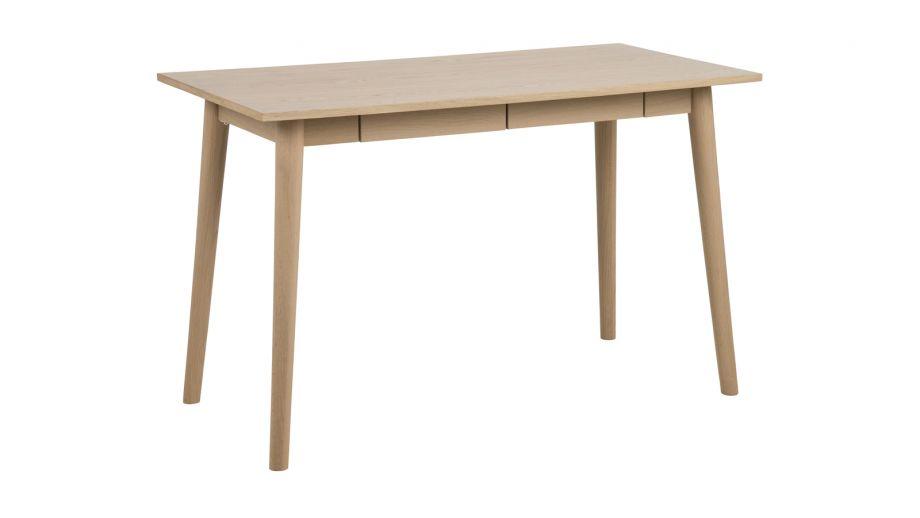Bureau style scandinave en chêne clair tiroirs u collection