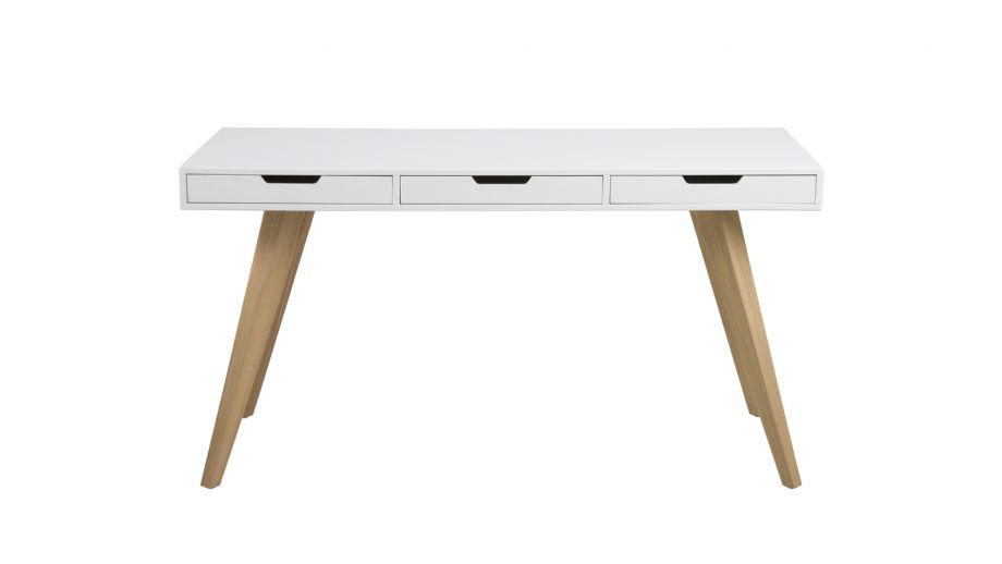 Bureau style scandinave 3 tiroirs – Collection Estelle