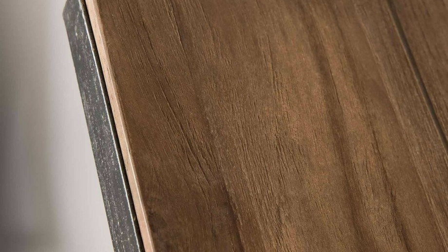 Gøran - Bout de canapé bois et métal