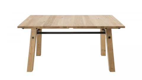 Table à manger 160cm en chêne massif – Collection Stockholm