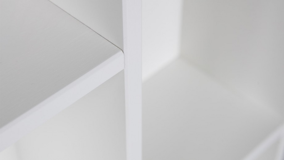 Etagère en pin massif blanc – Collection Flynn