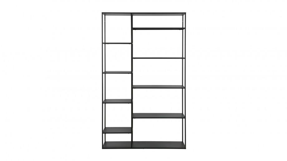 Etagère casiers en métal noir 120cm – Collection June