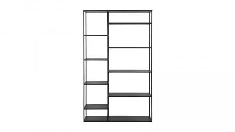 Etagère casiers en métal noir 120cm - Collection June - Woood
