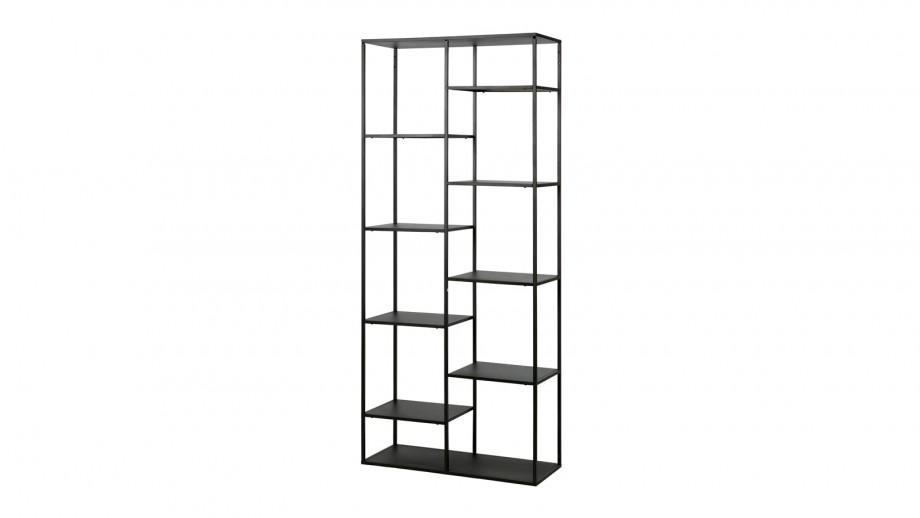 Etagère casiers en métal noir 85cm – Collection June