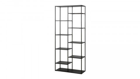 Etagère casiers en métal noir 85cm – Collection June