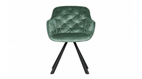 Chaise en velours vert d'eau - Collection Elaine - Woood