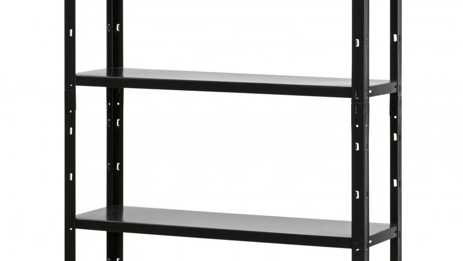 Etagère en métal noir – Collection Auke