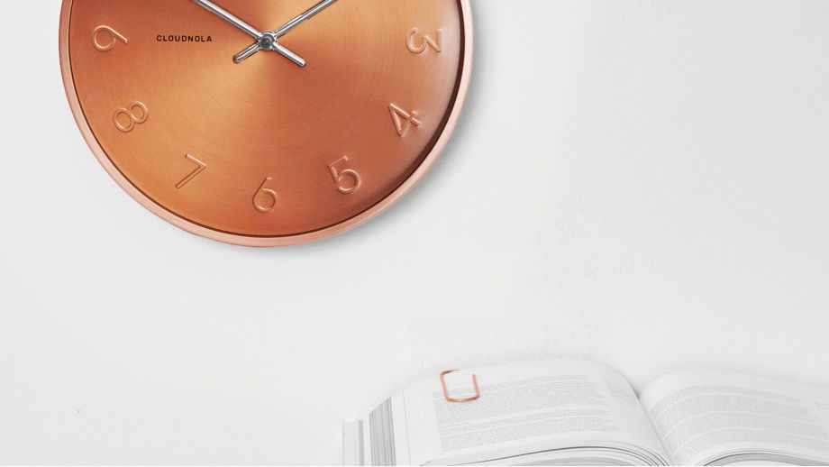 Horloge cuivre – Collection Trusty – Cloudnola
