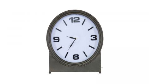 Horloge en métal noir - Collection Ageless - BePureHome
