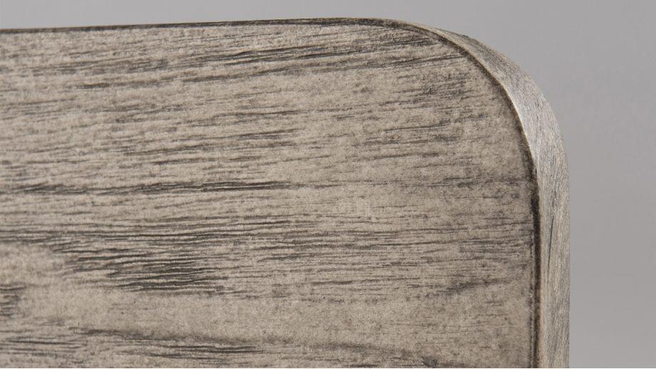 Banc en teck pieds en métal – Collection Emile