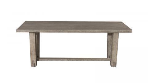 Table de jardin rectangulaire en teck – Collection Emilie