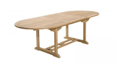 Table de jardin ovale extensible 180/240x100cm – Collection Fun