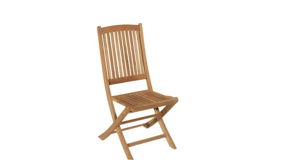 Lot de 2 chaises Lombock en teck – Collection Fun
