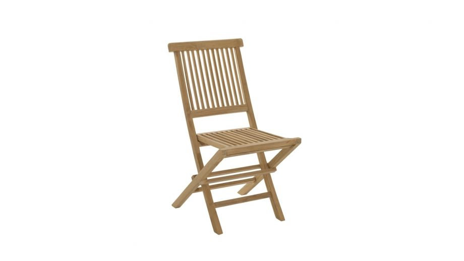 Lot de 2 chaises Java en teck – Collection Fun