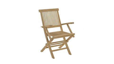 Lot de 2 fauteuils Java en teck – Collection Fun