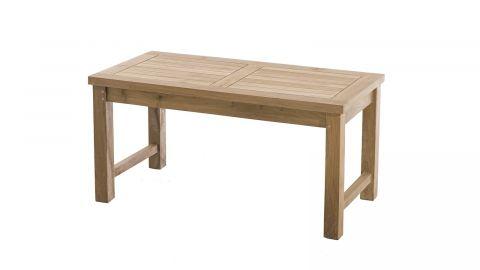 Table basse de jardin 90x45cm en teck – Collection Fun