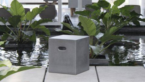 Cube en fibre de béton - Collection Victor