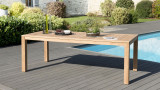 Table de jardin Vieste en teck 220x100cm – Collection Cali