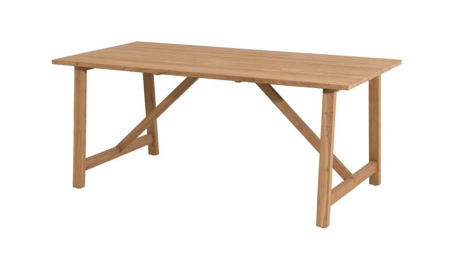 Table à manger Soho en teck 180x90cm – Collection Kim