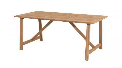 Table de jardin 6/8 personnes Soho en teck 180x90cm en bois teck - Collection Cali