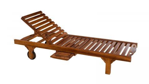 Bain de soleil en bois teck huilé - Collection Maelle