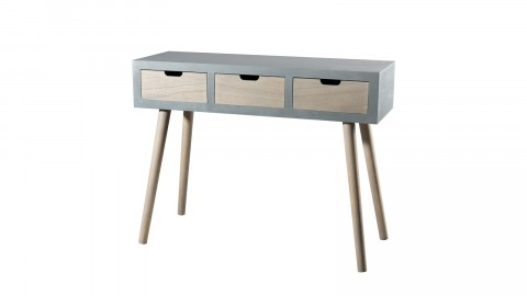 Console 3 tiroirs - Collection Enzo