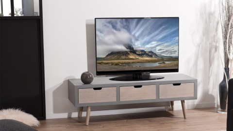 Meuble TV 3 tiroirs - Collection Lorenzo