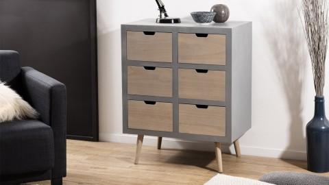 Commode 6 tiroirs - Collection Lorenzo