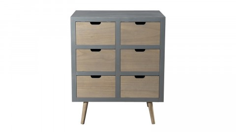 Commode 6 tiroirs - Collection Lorenzo
