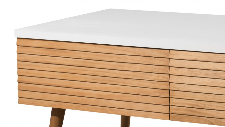 Table basse 4 tiroirs - Collection Pedro