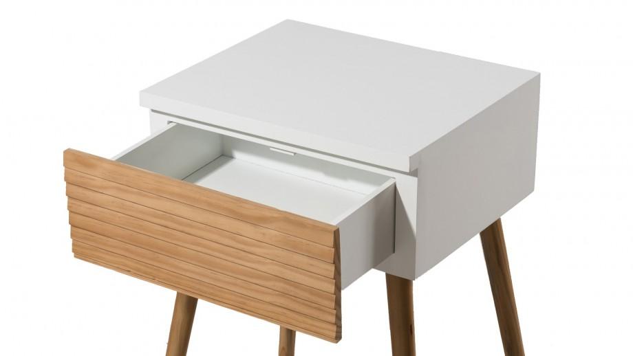 Chevet 1 tiroir - Collection Pedro