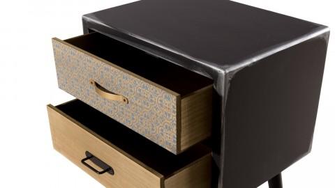 Chevet 2 tiroirs - Collection Leon