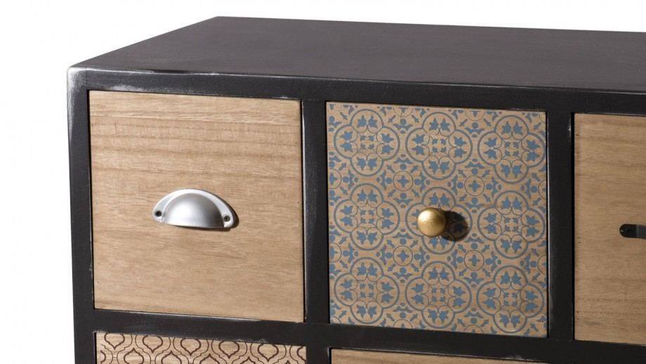Commode 8 tiroirs - Collection Leon